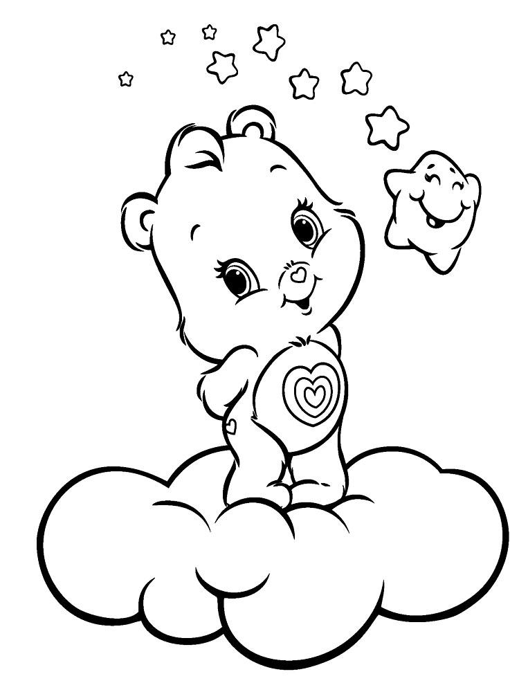 Descargamos Dibujos Para Colorear Care Bears