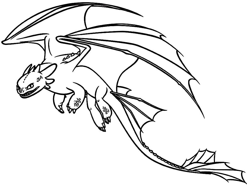 Descargamos dibujos para colorear – como entrenar a tu dragon.