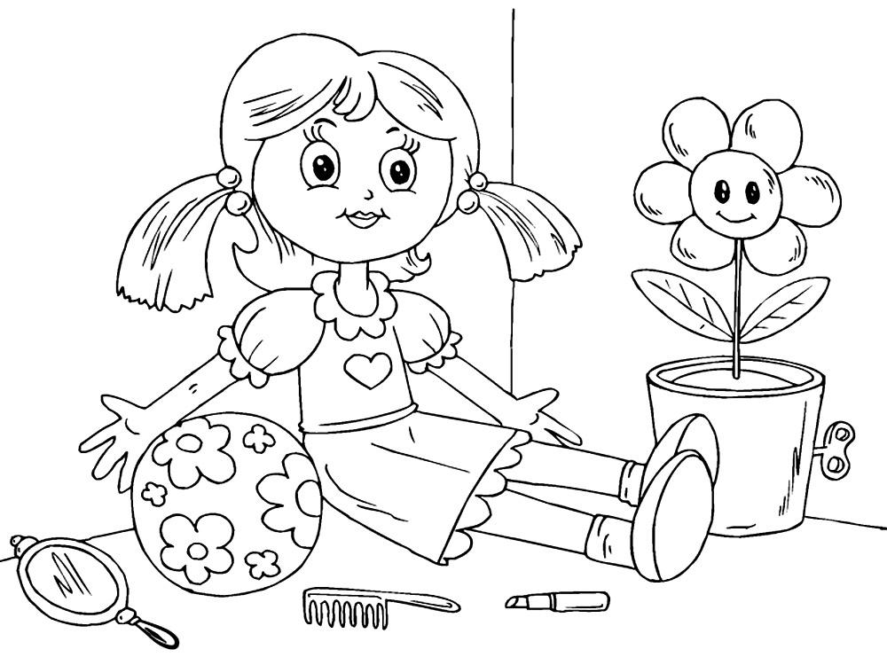 Dibujos De Munecas Para Colorear E Imprimir: Gratuitos Dibujos Para Colorear