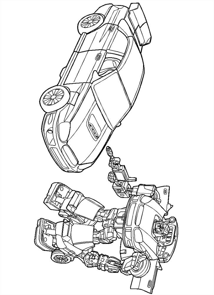 Dibujos Para Pintar De Los Transformers Dibujos Para Colorear