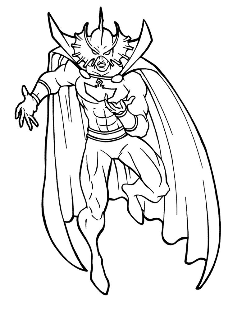 Dibujos Animados Para Colorear Aquaman Para Ni 241 Os Peque 241 Os