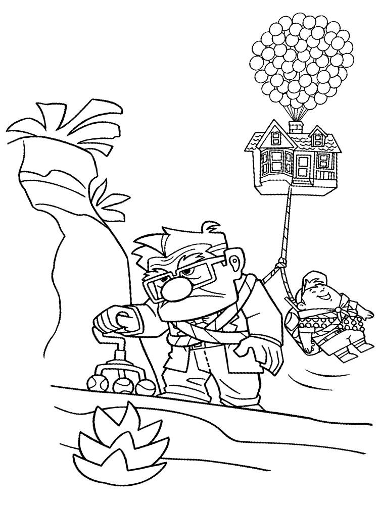 Imprimir gratis dibujos para colorear up for Generatore di casa virtuale gratuito