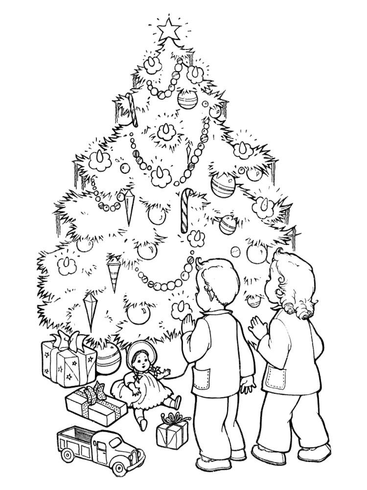 Imprimir gratis dibujos para colorear arbol de navidad - Imagenes de navidad para imprimir gratis ...