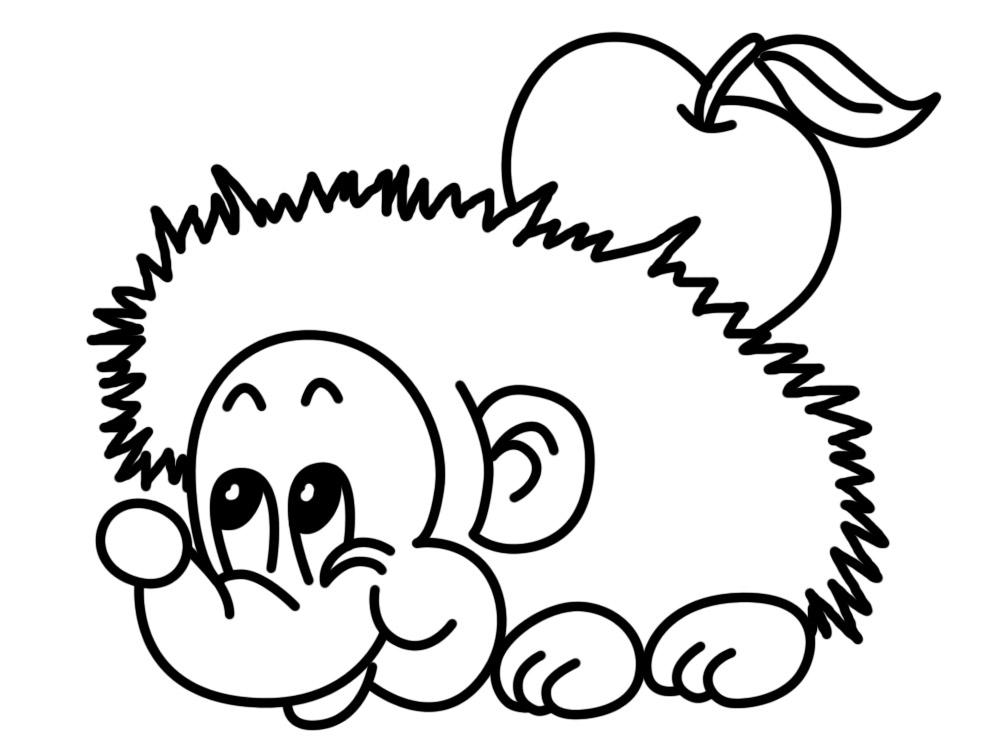 Útiles dibujos para colorear – animales, para chiquitines ...