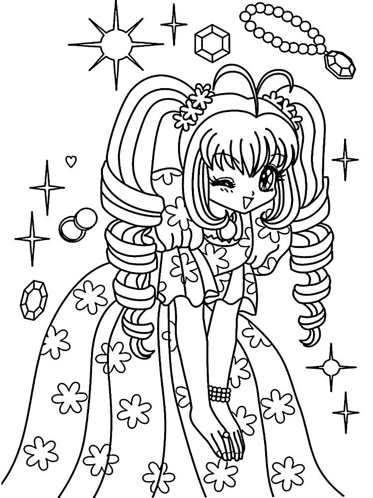 Anime dibujos para colorear e im genes - Dibujos juveniles ...