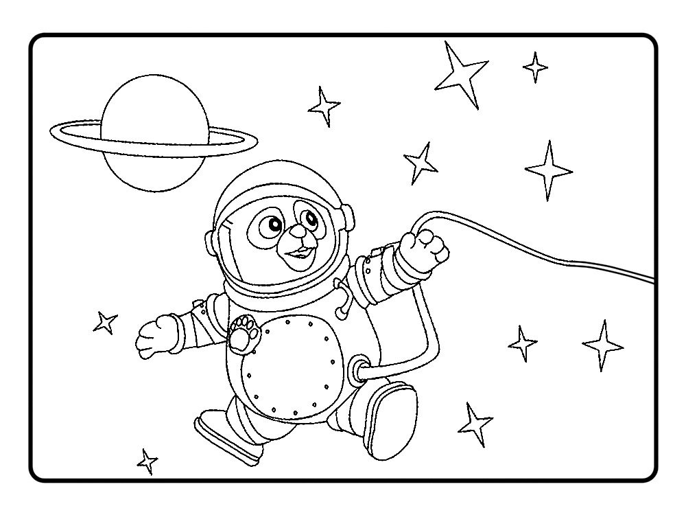 Agente especial oso dibujos infantiles para colorear - Dibujos infantiles para imprimir pintados ...